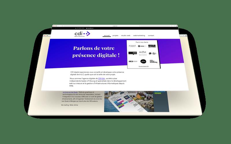 CDI digital experiences - projet